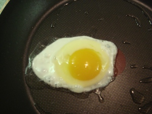 The first egg