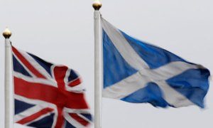 Union Flag & Saltire