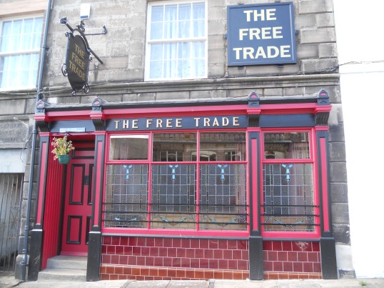 The Free Trade public house on Castlegate - benefited from Berwick