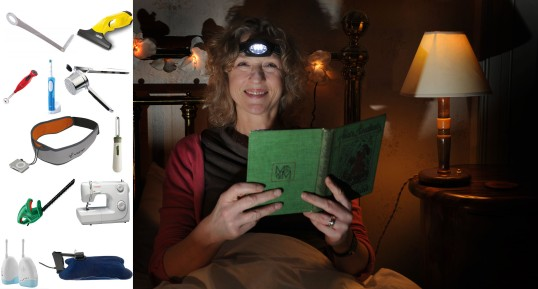 A headtorch is essential kit for so many things - reading in bed, putting the hens to bed, stargazing (with a red lens, of course!).