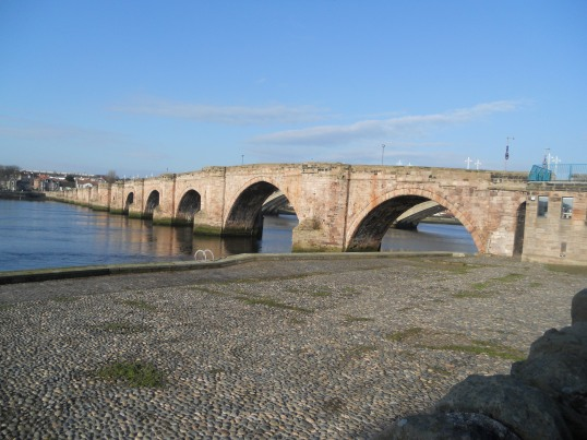 Sometimes it's good to get away - now matter how beautiful Berwick is