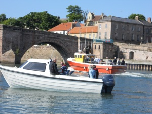 Boat trips along the Tweed from Berwick Quayside...