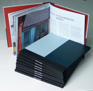 Charlie & Pauline are marking Open Studio's anniversary with this gorgeous book. Printed by Martin's in Berwick. (Image (c) Pauline Burbidge 2014)