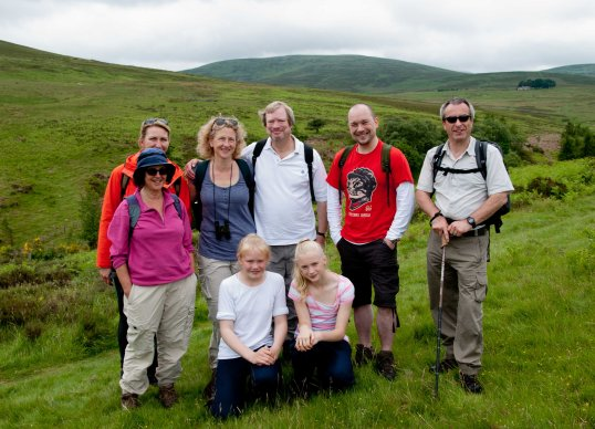 The Cheviots: A fabulous place to wander with friends.