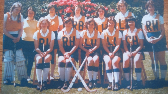 Hockey team circa 1976/7