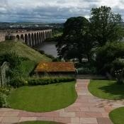 Open Gardens 2017: view from 5 Castle Terrace