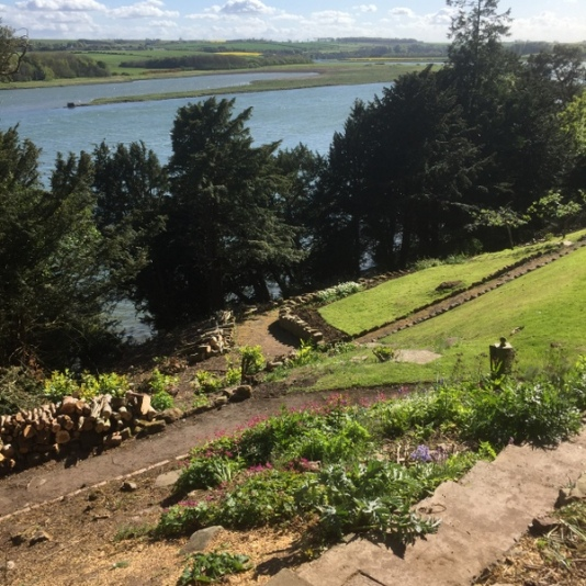 Open Gardens 2017: view from Castle Hills House