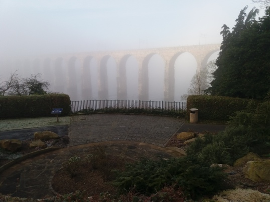 Misty Royal Border Bridge